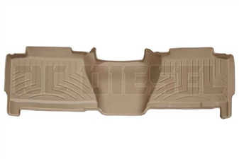 WeatherTech 450625 Tan Rear FloorLiner for 2004-2007 GM 6.6L Duramax LLY