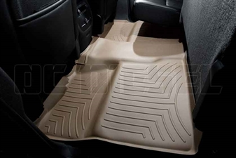 WeatherTech 450660 Tan Rear FloorLiner for 2007-2014 GM 6.6L Duramax LMM, LML