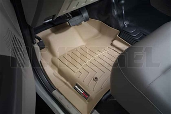 WeatherTech 451261 Tan Front FloorLiner for 2008-2010 Ford 6.4L Powerstroke
