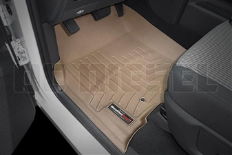 WeatherTech 452381 Tan Front FloorLiner for 2010-2012 Dodge 6.7LCummins