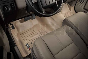 WeatherTech 452931 Tan Front FloorLiner for 2008-2010 Ford 6.4L Powerstroke