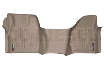 WeatherTech 454051 Tan Front FloorLiner for 2011-2012 Ford 6.7L Powerstroke