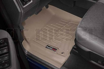 WeatherTech 454651 Tan Front FloorLiner for 2012-2016 Dodge 6.7L Cummins