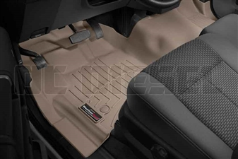 WeatherTech 455811 Tan Front FloorLiner for 2012-2016 Ford 6.7L Powerstroke