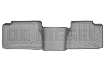 WeatherTech 460034 Grey Rear FloorLiner for 2001-2007 GM 6.6L Duramax LB7, LLY, LBZ