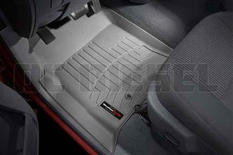 WeatherTech 460121 Grey Front FloorLiner for 2003-2009 Dodge 5.9L, 6.7L Cummins