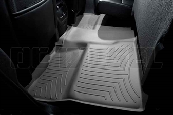 WeatherTech 460660 Grey Rear FloorLiner for 2007-2014 GM 6.6L Duramax LMM, LML