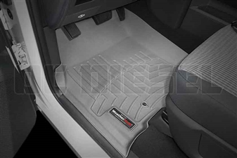 WeatherTech 462381 Grey Front FloorLiner for 2010-2012 Dodge 6.7LCummins