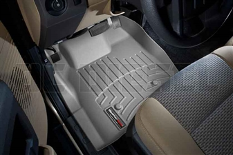 WeatherTech 463211 Grey Front FloorLiner for 2011-2012 Ford 6.7L Powerstroke