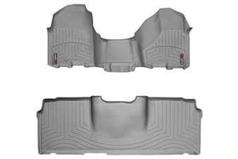 WeatherTech 463281-460123 Grey FloorLiner Set for 2010-2012 Dodge 6.7LCummins