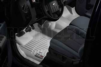 WeatherTech 463291 Grey Front FloorLiner for 2011-2012 Ford 6.7L Powerstroke