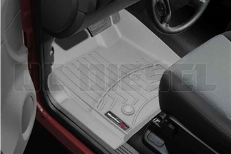 WeatherTech 463431 Grey Front FloorLiner for 2007-2014 GM 6.6L Duramax LMM, LML