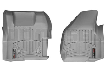 WeatherTech 464221 Grey Front FloorLiner for 2011-2012 Ford 6.7L Powerstroke