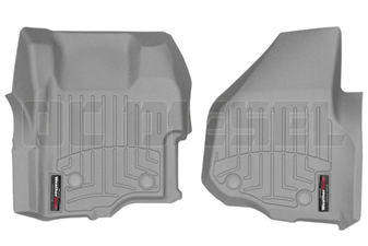 WeatherTech 464261 Grey Front FloorLiner for 2011-2012 Ford 6.7L Powerstroke