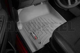 WeatherTech 464781 Grey Front FloorLiner for 2012-2017 Dodge 6.7L Cummins