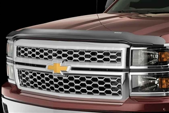 WeatherTech 50095 Dark Smoke Stone and Bug Deflectors for 2003-2004 GM 6.6L Duramax LB7