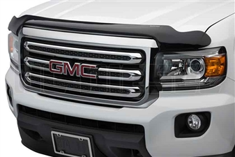 WeatherTech 50259 Dark Smoke Stone and Bug Deflectors for 2015-2017 GM 2.8L Duramax LWN