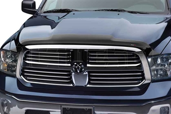 WeatherTech 55005 Black Hood Protector for 2010-2017 Dodge 6.7L Cummins