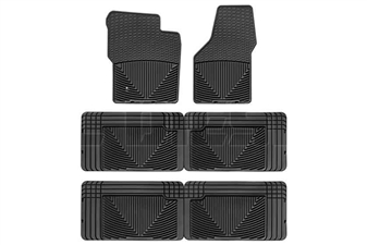WeatherTech W19-W25-W25 All-Weather Floor Mat Set for 2000-2005 Ford 7.3L, 6.0L Powerstroke