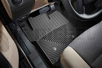 WeatherTech W203 Front All-Weather Floor Mats for 2011-2016 Ford 6.7L Powerstroke