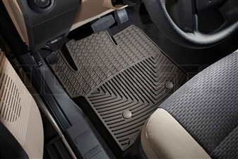 WeatherTech W203CO Front All-Weather Floor Mats for 2011-2016 Ford 6.7L Powerstroke