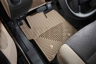 WeatherTech W203TN Front All-Weather Floor Mats for 2011-2016 Ford 6.7L Powerstroke