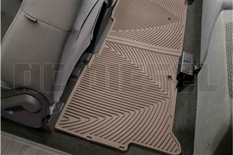 WeatherTech W206TN Rear All-Weather Floor Mats for 2008-2015 Ford 6.4L, 6.7L Powerstroke