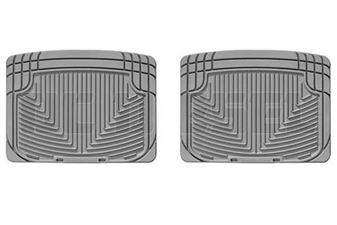 WeatherTech W20GR Rear All-Weather Floor Mats for 2001-2006 GM 6.6L Duramax LB7, LLY, LBZ