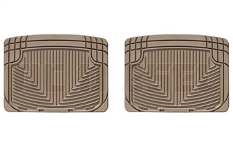 WeatherTech W20TN Rear All-Weather Floor Mats for 2001-2006 GM 6.6L Duramax LB7, LLY, LBZ