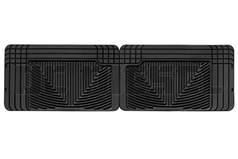 WeatherTech W25 Rear All-Weather Floor Mats for 1994-2002 Dodge 5.9L Cummins