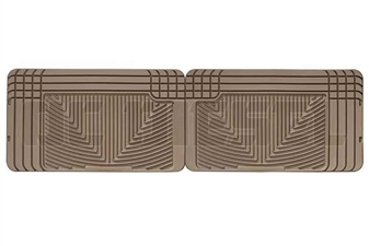 WeatherTech W25TN Rear All-Weather Floor Mats for 1994-2002 Dodge 5.9L Cummins
