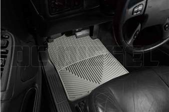 WeatherTech W26GR Front All-Weather Floor Mats for 2001-2007 GM 6.6L Duramax LB7, LLY, LBZ