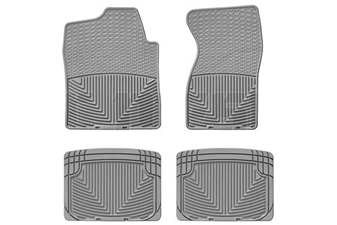 WeatherTech W26GR-W20GR All-Weather Floor Mat Set for 2001-2007 GM 6.6L Duramax LB7, LLY, LBZ
