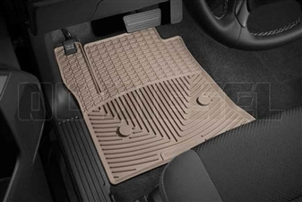 WeatherTech W308TN Front All-Weather Floor Mats for 2014-2017 GM 6.6L Duramax LML, LP5