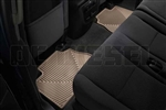 WeatherTech W70TN Rear All-Weather Floor Mats for 2007-2014 GM 6.6L Duramax LMM, LML