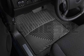 WeatherTech W72 Front All-Weather Floor Mats for 2007-2014 GM 6.6L Duramax LMM, LML