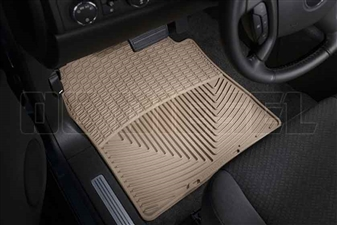 WeatherTech W72TN Front All-Weather Floor Mats for 2007-2014 GM 6.6L Duramax LMM, LML