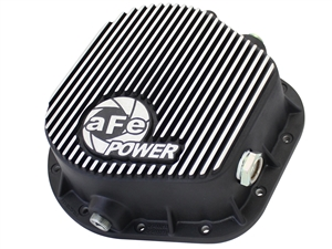 aFe Power 46-70022 Pro Series Rear Differential Cover Machined Fins for 1986-2016 Ford 7.3L, 6.0L, 6.4L, 6.7L Powerstroke