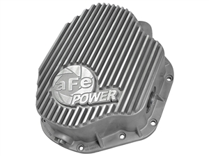 aFe Power 46-70030 Street Series Rear Differential Cover Raw Finish for 1994-2002 Dodge 5.9L Cummins