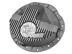 aFe Power 46-70040 Street Series Front Differential Cover Raw Finish for 2003-2012 Dodge 5.9L, 6.7L Cummins