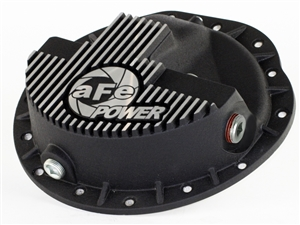 aFe Power 46-70042 Pro Series Front Differential Cover Machined Fins for 2003-2012 Dodge 5.9L, 6.7L Cummins
