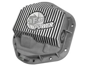 aFe Power 46-70080 Street Series Front Differential Cover Raw Finish for 1999-2016 Ford 7.3L, 6.0L, 6.4L, 6.7L Powerstroke