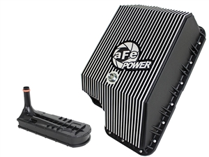 aFe Power 46-70122-1 Transmission Pan Machined Fins for 1994-2010 Ford 7.3L, 6.0L, 6.4L Powerstroke