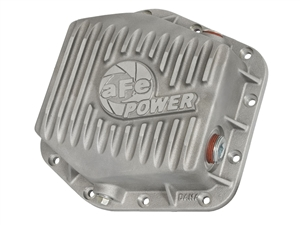 aFe Power 46-70300 Street Series Rear Differential Cover Raw Finish for 2016 GM 2.8L Duramax LWN