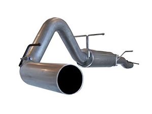 "aFe Power 49-13003 Large Bore-HD 4"" 409 Stainless Steel Cat-Back Exhaust System for 2003-2007 Ford 6.0L Powerstroke"