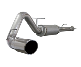 "aFe Power 49-43009 Large Bore-HD 4"" 409 Stainless Steel Cat-Back Exhaust System for 2003-2005 Ford 6.0L Powerstroke"