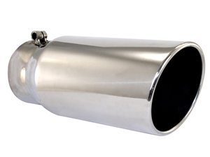 "aFe Power 49-90002 MACH Force-Xp 5"" Exhaust Tip 304 Stainless Steel for 4"" Exhaust Systems"