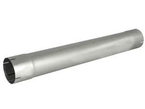 "aFe Power 49-91003 ATLAS 4"" Muffler Delete Pipe Aluminized for 4"" Exhaust Systems"
