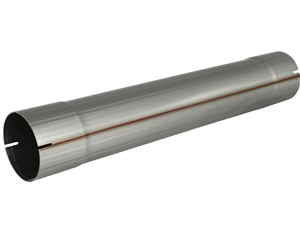"aFe Power 49-91041 MACH Force-Xp 5"" Muffler Delete Pipe 409 Stainless Steel for 5"" Exhaust Systems"