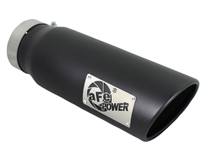 "aFe Power 49T40501-B15 MACH Force-Xp 5"" Exhaust Tip 304 Stainless Steel for 4"" Exhaust Systems"